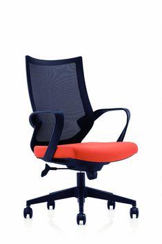 Scaun de birou ergonomic Novo S193 #homedecor #interiordesign #inspiration #office #officechair #orange Interior Design, Chair, Inspiration, Furniture, Orange, Home Decor, Nest Design, Biblical Inspiration, Decoration Home