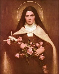 St. Therese - she has ALWAYS come through for us she always shows us a rose for our prayers