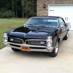 1966 Pontiac GTO                                                       … #VintageCars