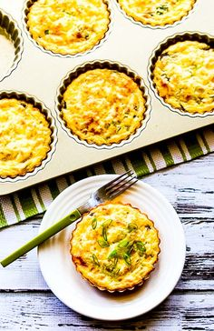 Crustless Breakfast Tarts with Mushrooms and Goat Cheese (Low-Carb, Gluten-Free) | Kalyn's Kitchen®