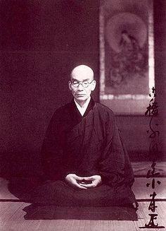 "Kodo Sawaki( He said "" You yourself, Zazen be itself "" )"