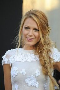 Amazingly messy but beautiful braided #hair worn by Blake Lively. | myLusciousLife