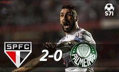 São Paulo 2 x 0 Palmeiras - Melhores Momentos - Campeonato Brasileiro 2017