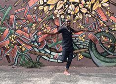 Eddy Kenzo dancing in Brooklyn, New York
