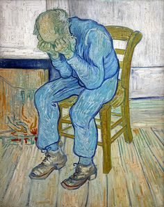 van Gogh I feel like this every Monday.