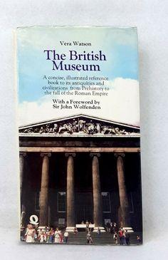 The British Museum Vera Watson vintage hardcover dust jacket fwd Wolfenden 1973 Prehistory, Roman Empire, British Museum, Civilization, Jacket, Antiques, Illustration, Vintage, Ebay