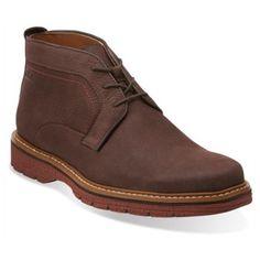 5ecbcb7a1f29 Men s Clarks Newkirk Top Dark Nubuck Black Friday Shoes