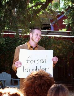 21 Insanely Fun Wedding Ideas - Display Cue Cards at Your Ceremony