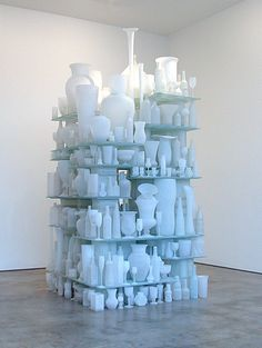 "Tony Cragg - Cumulus ""glass 113 x 76 x 48 cm "" Lisson Gallery, Art Gallery, Glass Installation, Elements Of Design, Carnival Glass, Art Object, Sculpture Art, Art For Kids, Design Art"