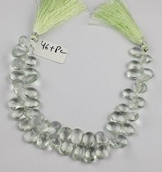 1 Strand Natural Green Amethyst Gemstone Pear 6.5x9.5-9x1... https://www.amazon.com/dp/B071V8FC66/ref=cm_sw_r_pi_dp_x_ErUbzbAGFFVN3