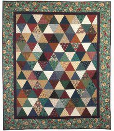 Thousand Pyramids Designed by Mimi Shimp (free Simplicity pattern)