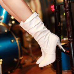 Corrina wedding shoes fashion pointed toe high-heeled shoes white bridal wedding dress boots red boots black gold boots
