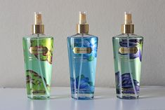 brumes-victorias-secret ( Pear Glacé - Aqua Kiss - True Escape )