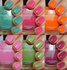 Brand: Zoya // Collection Beach (2012) // Blog: Let Them Have Polish