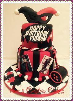 Harley Quinn Cake                                                                                                                                                                                 More