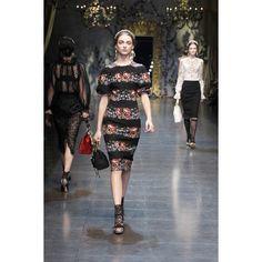 Dolce & Gabbana Women Fashion Show Gallery – Fall Winter 2013... via Polyvore