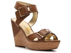 Marc Fisher Gatto Wedge Sandal | DSW
