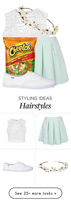 """Red Ribbon Week: Day 4: crazy hair/dress down"" by kiarahcarson on Polyvore featuring Ally Fashion and Cult Gaia"