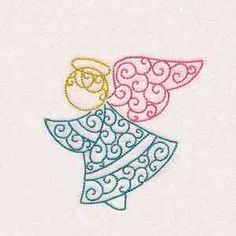 says curly Christmas lacy angel freebie Free Design, Machine Embroidery, Embroidery Designs, Angels, Cross Stitch, Curly, Board, Christmas, Fantasy