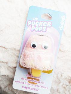 Claires Pucker Pops Review