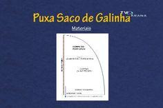 PUXA SACO GALINHA Moldes