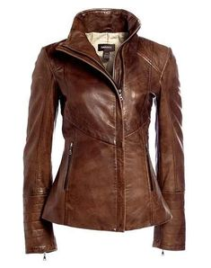 Every girl needs a structured leather jacket