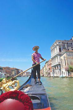 Gondola Ride - Venice, Italy