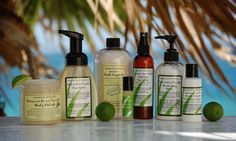 Coconut Lime Vanilla Spa Ritual Collection This collection will quickly become your fragrance of choice. A creamy blend of coconut, tangy lime with hints of verbena, vanilla and musk will whisk your mind back to the beach every time you wear it. Collection includes body polish, liquid soap, bath crystals, body spritz, lotion duo and gift card tucked into a beautiful travel bag with organza trim. Price: $54.00  http://www.ourlemongrassspa.com/KRYCHTER/