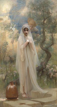 The Annunciation by Arthur Hacker, 1892