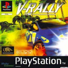 V-Rally sur playstation 1. Des centaines d'heures de jeux !!