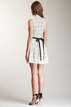 Lace Dress, cute shoes