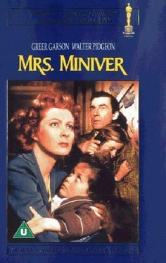 "Mrs. Miniver ~ ""The Minivers, an English ""middle-class"" family experience life in the first months of World War II..."""