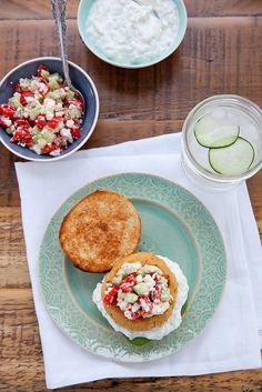 Mediterranean Veggie Burgers–Annie's Eats