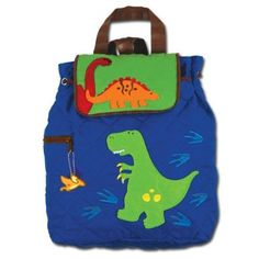 Amazon.com: Stephen Joseph Quilted Dino Backpack: Clothing $30