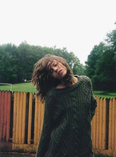 Freja Beha Erichsen by Cass Bird this sweater is absolutely sublime!!I am officially looking for one!