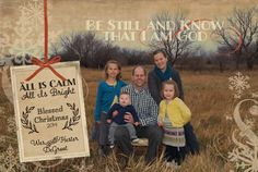 Rustic Christmas Photo Card  add photo of your choice by gwenmariedesigns