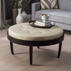 Have to have it. Citation Coffee Table Ottoman with Removable Cushion - $240.99 @hayneedle
