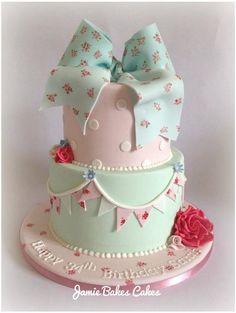 Cath Kidston inspired cake