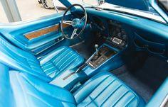 1969 427 Chevy Corvette Interior.