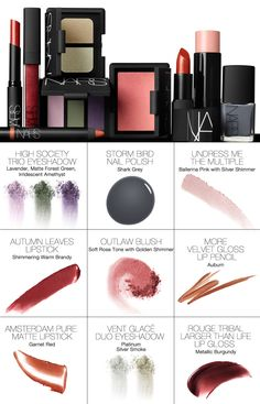 Nars Fall 2012 My first picks: Outlaw Blush and Rouge Tribal lipgloss