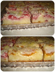 kysnutý ovocný koláč s tvarohom a mrveničkou