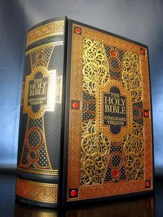 KING JAMES BIBLE Gustave Dore ILLUSTRATED Deluxe B PRESS Leather Bound easton | eBay