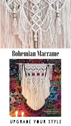 Excited to share the latest addition to my #etsy shop: Large Macrame Wall Hanging Tapestry, Bohemian Wall Decor, Wall Tapestry, Boho Decor, Woven Wall Hanging, Macrame Wall Decor / FREE SHIPPING #homedecor #birthday #macrame #giftforwomen #bohemianwalldecor #bohodecor
