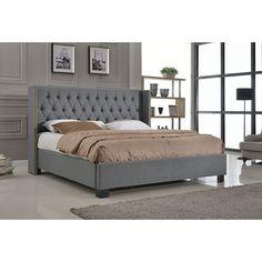 António Upholstered Platform Bed