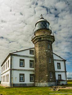 Cape Peñas Lighthouse in Asturias, Spain by Millán Dasairas