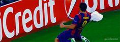 Luis Suárez primer gol en el Camp Nou