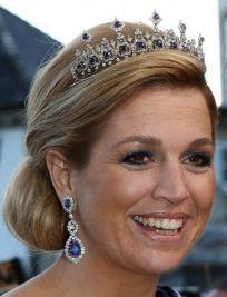 Sapphire Parure Necklace Tiara (worn by Princess Maxima, Netherlands)