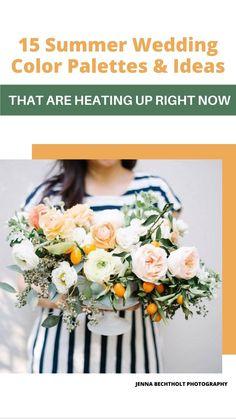 Summer Wedding Cakes, Summer Wedding Bouquets, Summer Wedding Colors, Floral Wedding, Wedding Flowers, Home Wedding, Wedding Bride, Wedding Events, Weddings