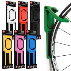 Cycloc Endo - a great new solution for your bike storage problem. Compact, quick and secure. Choose your favourite colour and transform how you store your bike.