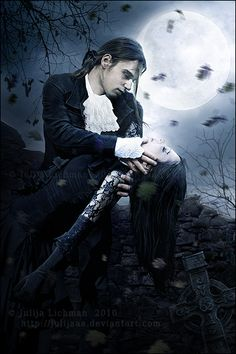 A Vampire's Kiss by SomnolentImages on DeviantArt